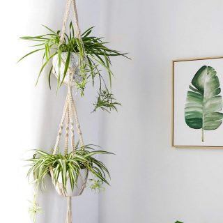 Macrame-Double-Plant-Hanger-Indoor-Outdoor-2-Tier-Hanging-Planter-Cotton-Rope-4-Legs-67-inch.jpg